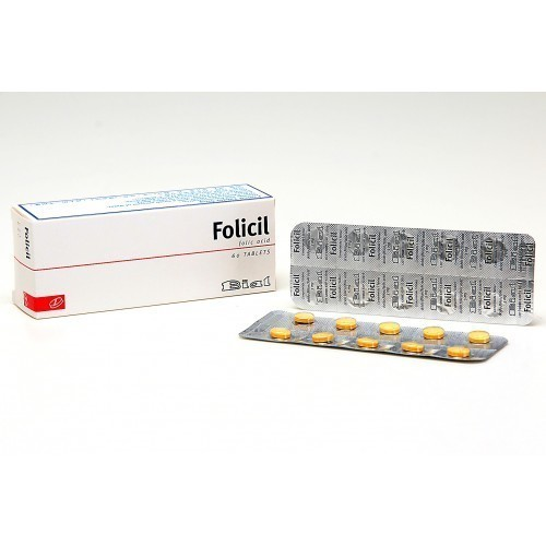 FOLICIL Tablet 5mg