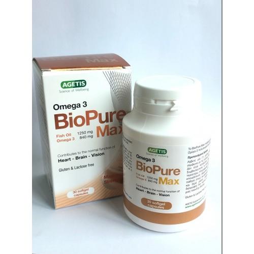 BioPure Max Omega-3 Softgel Capusle