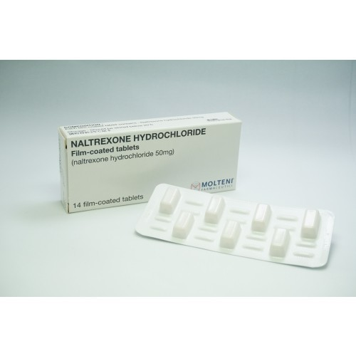 NALTREXONE HYDROCHLORIDE Film-coated Tablet 50mg